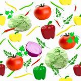 Modello delle verdure Immagine Stock