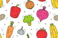 Modello delle verdure Immagini Stock