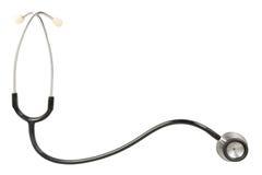 Modello dello stetoscopio Fotografia Stock Libera da Diritti