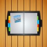 Modello dettagliato di vettore del Copy-book Immagine Stock