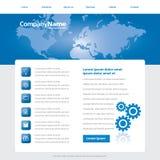 Modello di affari globali royalty illustrazione gratis
