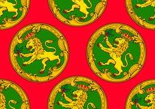 Modello di Alderney royalty illustrazione gratis