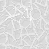 Modello di alfabeto Fotografie Stock Libere da Diritti