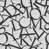 Modello di alfabeto Fotografia Stock