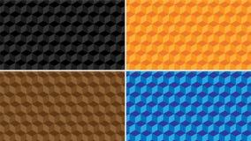 modello di alta qualità del ` di vettore del ` 3D con differenti colori Fotografia Stock