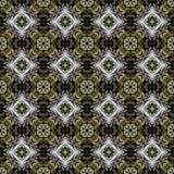 Modello di alta risoluzione senza cuciture Colourful ornamentale in bianco, giallo, verde royalty illustrazione gratis