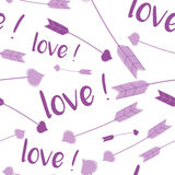 Modello di amore Immagine Stock Libera da Diritti