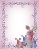 Modello di annuncio della neonata illustrazione di stock