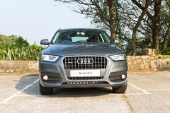 Modello di Audi Q3 SUV 2013 Fotografia Stock Libera da Diritti