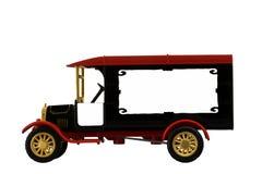 Modello di autocarro antico del giocattolo 1926 Fotografia Stock Libera da Diritti