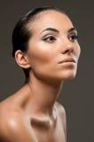 Modello di bellezza di modo Fotografie Stock Libere da Diritti