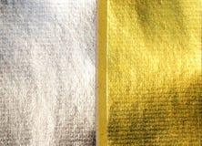 Modello di carta dell'oro e dell'argento per il funerale cinese Immagine Stock