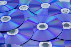 Modello di CD/DVD Fotografia Stock Libera da Diritti