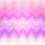 Modello di Chevron nella porpora di rosa di effetto del vetro macchiato Immagini Stock