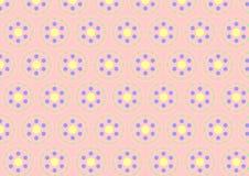 Modello di Clasper del cerchio su colore pastello Fotografie Stock Libere da Diritti