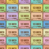 Modello di colore della cassetta Fotografia Stock