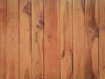 Modello di colore della superficie decorativa di legno del tek fotografia stock libera da diritti