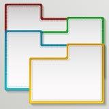 Modello di colore per web design Vettore Royalty Illustrazione gratis