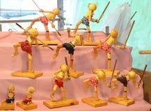 Modello di combattimento Fotografia Stock