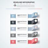 modello di 3D Infographic Visualizzazione di dati Può essere usato per lavoro Fotografie Stock