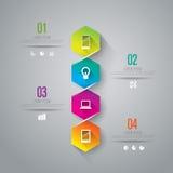 Modello di disegno di Infographics Fotografia Stock