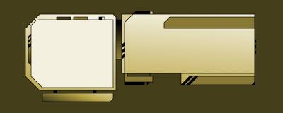 Modello di disegno di Web - 03 - A Immagini Stock