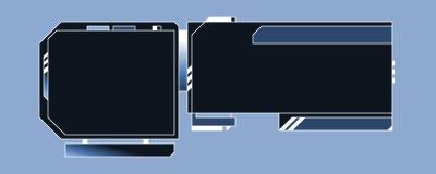 Modello di disegno di Web - 03 - E Fotografie Stock Libere da Diritti