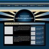 Modello di disegno di Web site illustrazione vettoriale