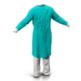 Modello di Dress 3d del chirurgo Immagini Stock