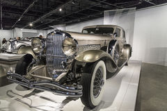 Modello 1931 di Duesenberg J Rollston Fotografia Stock Libera da Diritti