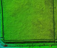 Modello di elevazione di Digital del campo di erba a Singapore Immagine Stock