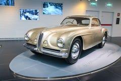 Modello di Este del ` della villa d di Alfa Romeo 6C 2500 su esposizione al museo storico Alfa Romeo fotografia stock libera da diritti