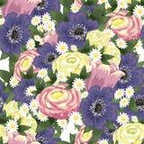 Modello di fiore Fotografia Stock