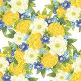 Modello di fiore Immagine Stock Libera da Diritti