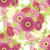 Modello di fiore Immagine Stock