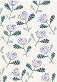 Modello di fiore composito porpora royalty illustrazione gratis