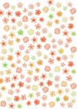 Modello di fiori astratto immagine stock libera da diritti