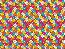 Modello di fiori senza cuciture Fotografie Stock
