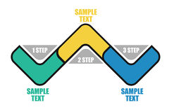 Modello di flusso Immagine Stock