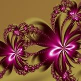 Modello di frattale del fiore Potete usarlo per gli inviti, coperture del taccuino, casse del telefono, cartoline, carte, ceramic royalty illustrazione gratis
