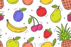 Modello di frutti Fotografia Stock