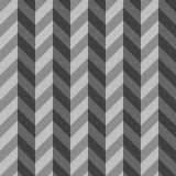 Modello di Gray Three Dimensional Chevron Seamless illustrazione di stock