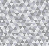 Modello di Grey Triangular Mosaic Abstract Seamless Immagini Stock
