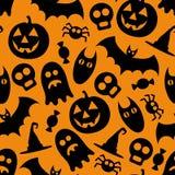 Modello di Halloween Fotografie Stock