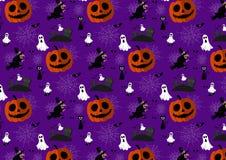 Modello di Halloween di vettore Fotografia Stock