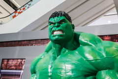 Modello di Hulk Fotografie Stock Libere da Diritti