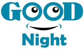 Modello di immagine e della buona notte Fotografia Stock Libera da Diritti