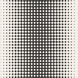 Modello di infinito Griglia monocromatica con spessore che che cambia verso il centro Ripetizione delle mattonelle geometriche da illustrazione vettoriale