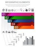 Modello di Infographic Immagini Stock