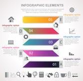 Modello di infographics di affari Fotografia Stock